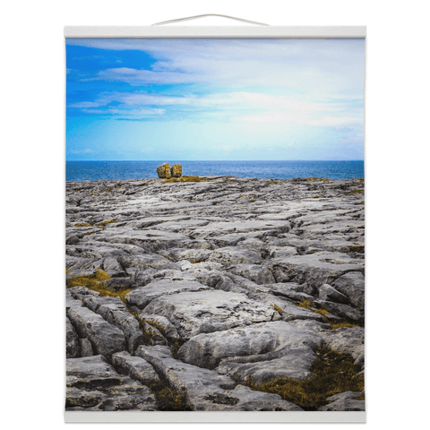 Wall Hanging - Rocky Burren Coast of County Clare - James A. Truett - Moods of Ireland - Irish Art