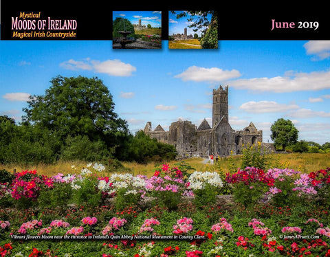 2019 Magical Irish Countryside Wall Calendar