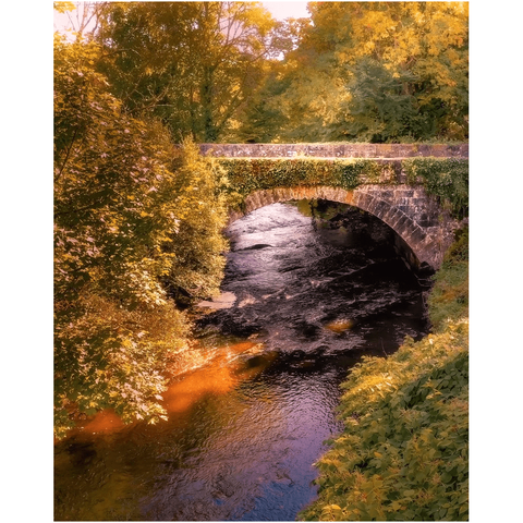 Image of Print - Clondegad Arched Bridge, County Clare - James A. Truett - Moods of Ireland - Irish Art