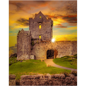 Print - Sunset at Dunguaire Castle, Kinvara, County Galway - James A. Truett - Moods of Ireland - Irish Art