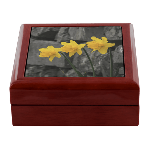 Jewelry Box - Irish Daffodils Jewelry Box teelaunch