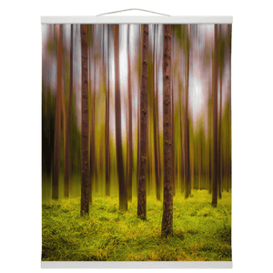 Wall Hanging - Ethereal Mood in Portumna Forest, County Galway - James A. Truett - Moods of Ireland - Irish Art