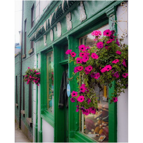 Print - F. O'Dea's Shop, Kinvara, County Galway Poster Print Moods of Ireland 8x10 inch