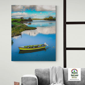 Canvas Wrap - Shannon Estuary Reflections, County Clare - James A. Truett - Moods of Ireland - Irish Art