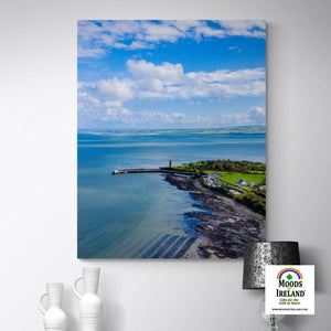Canvas Wrap - Carrigaholt Castle on the Shannon Estuary, County Clare - James A. Truett - Moods of Ireland - Irish Art