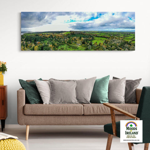 Panorama Canvas - Paradise House, Ballynacally, County Clare - James A. Truett - Moods of Ireland - Irish Art