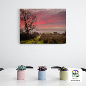 Canvas Wrap - Sunrise over County Clare, Ireland - James A. Truett - Moods of Ireland - Irish Art