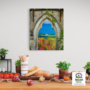 Canvas Wrap - Doorway to Paradise and the Green Hills of County Clare - James A. Truett - Moods of Ireland - Irish Art