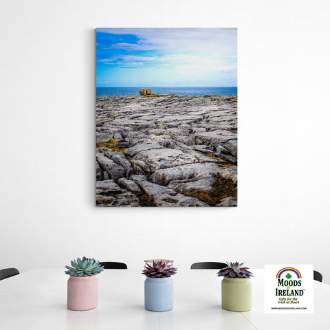 Canvas Wrap - Rocky Burren Coast of County Clare