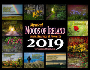 2019 Irish Blessings & Proverbs Wall Calendar Calendar Moods of Ireland
