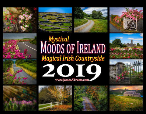 Image of 2019 Magical Irish Countryside Wall Calendar Calendar Moods of Ireland
