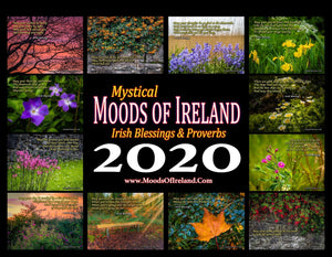2020 Irish Blessings & Proverbs Wall Calendar Calendar Moods of Ireland