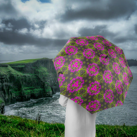 Image of Umbrellas - Herb Robert Bouquet Umbrella Moods of Ireland