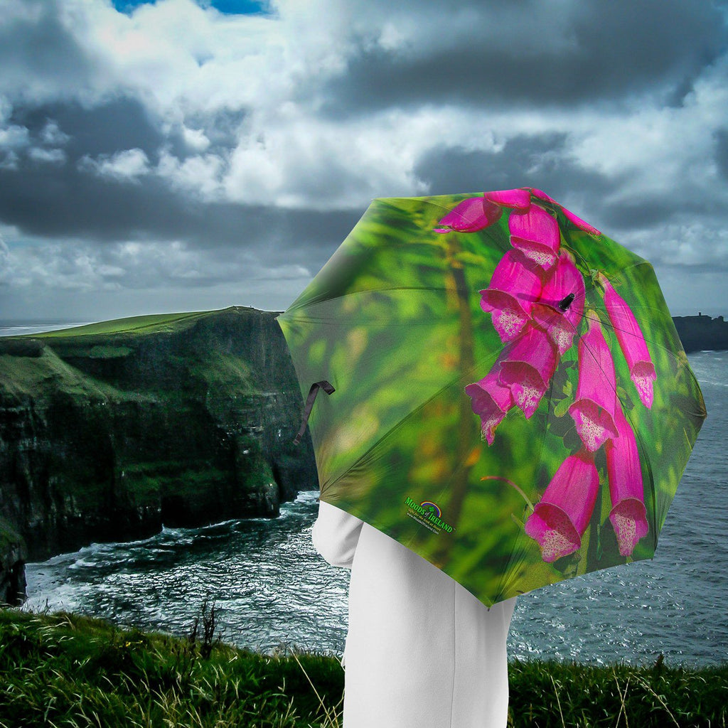 Umbrellas - Irish Faerie Thimbles (Foxglove) Umbrella Moods of Ireland