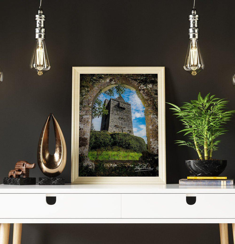Canvas Wraps - Ballinalacken Castle in Ireland's County Clare Canvas Wrap Moods of Ireland