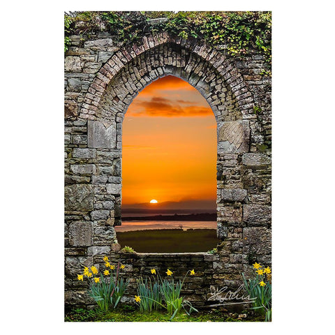 Image of Posters - Magical Irish Spring in County Clare, Ireland Poster Moods of Ireland