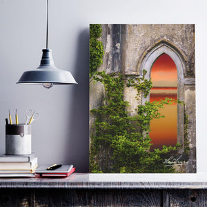 Canvas Wrap - Sunrise at Paradise House near Ballynacally, County Clare - James A. Truett - Moods of Ireland - Irish Art