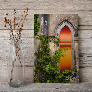 Canvas Wraps - Sunrise at Paradise House near Ballynacally, County Clare Canvas Wrap Moods of Ireland