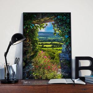 Canvas Wraps - Secret Irish Garden, County Clare, Ireland