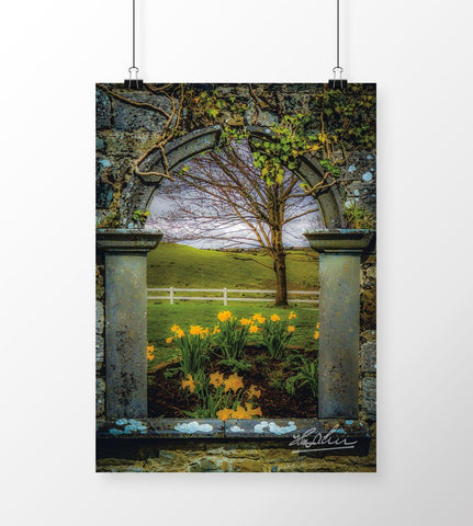 Canvas Wraps - Spring in Ballynacally, County Clare, Ireland Canvas Wraps Moods of Ireland