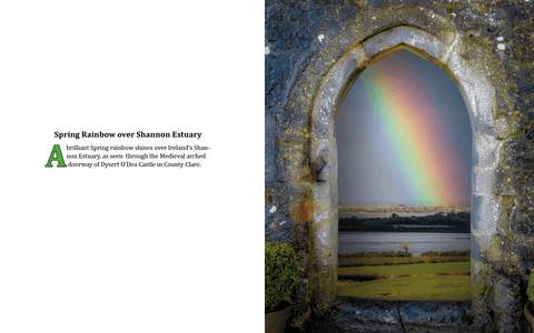 Image of Coffee Table Book: Mystical Moods of Ireland, Vol. VI-Portals Through Time: Irish Doorways & Windows - James A. Truett - Moods of Ireland - Irish Art