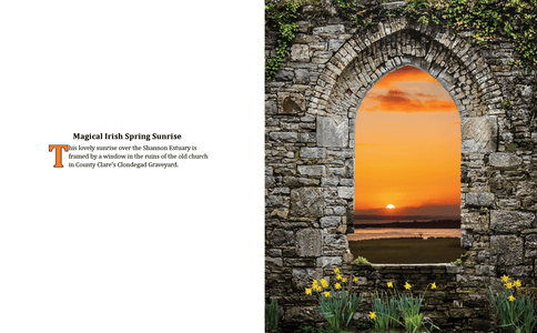 Coffee Table Book: Mystical Moods of Ireland, Vol. VI-Portals Through Time: Irish Doorways & Windows Book Moods of Ireland