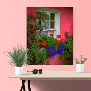 Canvas Wrap - Irish Cottage at Bunratty Castle, County Clare Canvas Wrap Moods of Ireland