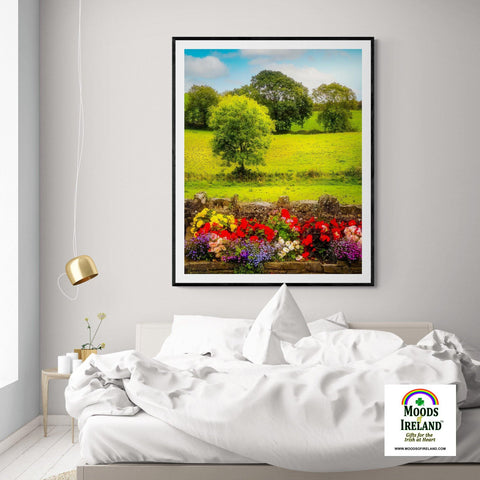 Print - Green Meadows of Kildysart, County Clare - James A. Truett - Moods of Ireland - Irish Art