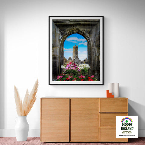 Print - Summer at Quin Abbey, County Clare - James A. Truett - Moods of Ireland - Irish Art