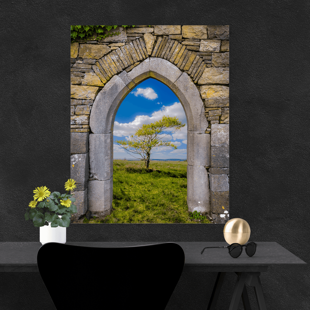 Poster Print - Portal to Irish Summer, County Clare, Ireland Poster Print Moods of Ireland