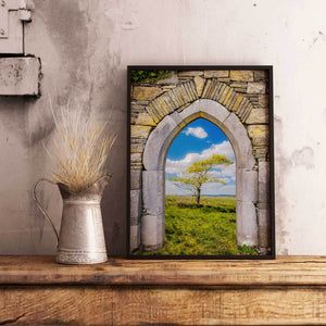 Print - Portal to Irish Summer, County Clare - James A. Truett - Moods of Ireland - Irish Art