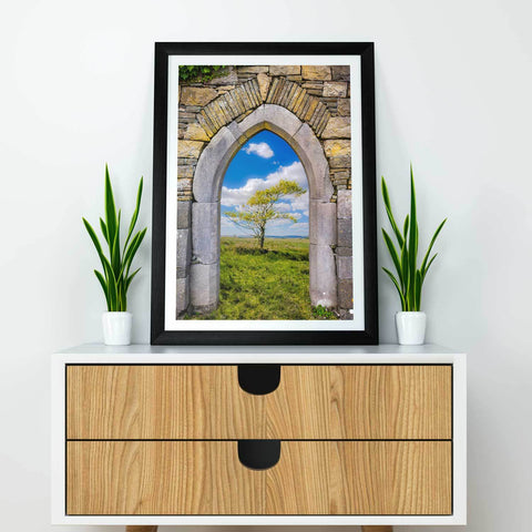Image of Print - Portal to Irish Summer, County Clare - James A. Truett - Moods of Ireland - Irish Art