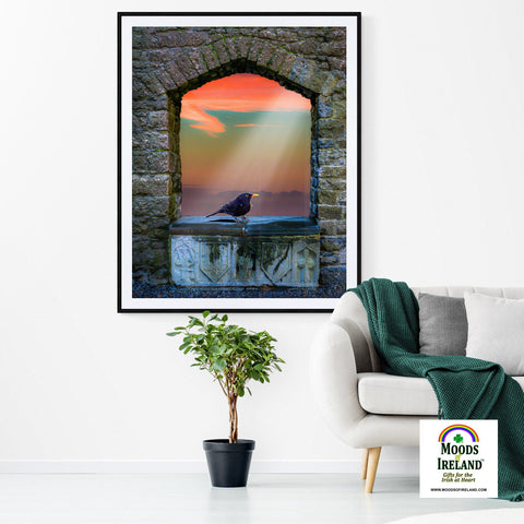 "Image of Print - ""Resurrection"" - James A. Truett - Moods of Ireland - Irish Art"