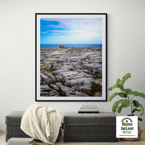 Print - Rocky Burren Coast of County Clare - James A. Truett - Moods of Ireland - Irish Art