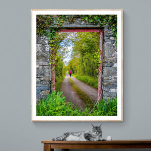 Print - Portal to County Clare Country Road - James A. Truett - Moods of Ireland - Irish Art
