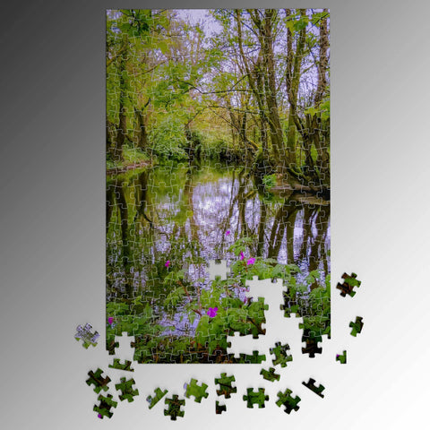Puzzle - Streamstown River Reflections, County Galway Puzzle Moods of Ireland