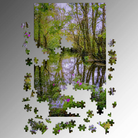 Image of Puzzle - Streamstown River Reflections, County Galway Puzzle Moods of Ireland
