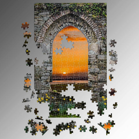 Image of Puzzle - Magical Irish Spring Sunrise Puzzle Moods of Ireland