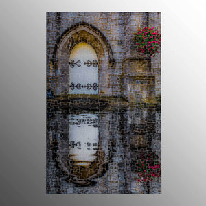 Puzzle - Reflections at St. Augustine's Church, Galway, 252 Pieces Puzzle Moods of Ireland