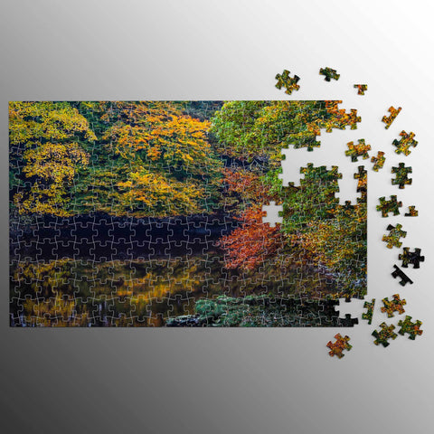 Puzzle - Autumn on County Clare's Cloon River Puzzle Moods of Ireland