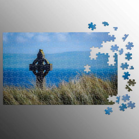 Image of Puzzle - Celtic Cross & Atlantic Ocean, Aran Islands Puzzle Moods of Ireland