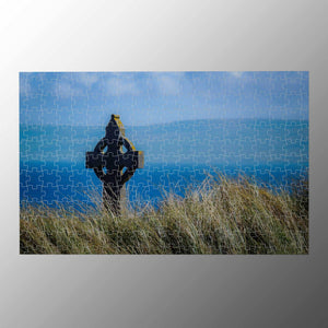 Puzzle - Celtic Cross & Atlantic Ocean, Aran Islands Puzzle Moods of Ireland