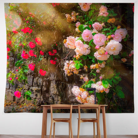 Image of Tapestry - Irish Roses Tapestry Moods of Ireland