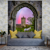 Tapestry - Medieval Castle in the County Clare Countryside Tapestry Moods of Ireland