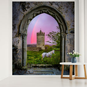 Tapestry - Medieval Castle in the County Clare Countryside - James A. Truett - Moods of Ireland - Irish Art