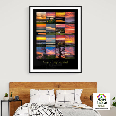 Giclee Fine Art Print - Sunrises of County Clare, Ireland Giclée Fine Art Print Moods of Ireland