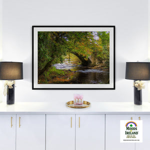 Print - Autumn at Clondegad Bridge, County Clare - James A. Truett - Moods of Ireland - Irish Art