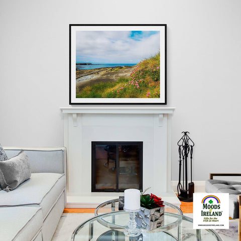 Image of Print - Spanish Point, County Clare, in Spring - James A. Truett - Moods of Ireland - Irish Art