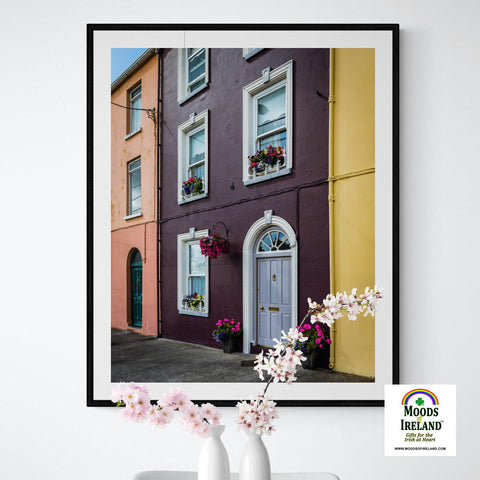 Image of Print - Summer Homefront in Kilrush, County Clare - James A. Truett - Moods of Ireland - Irish Art