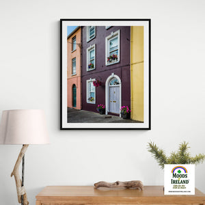 Print - Summer Homefront in Kilrush, County Clare - James A. Truett - Moods of Ireland - Irish Art